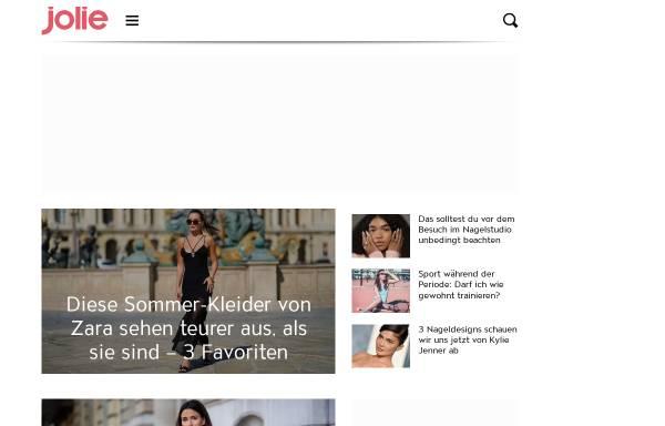 Vorschau von www.jolie.de, Jolie.de