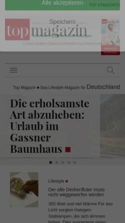 Vorschau der mobilen Webseite www.lifestylemagazin.de, Lifestylemagazin.de