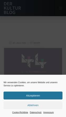 Vorschau der mobilen Webseite lifestylesite.de, Lifestylesite.de