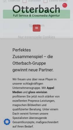 Vorschau der mobilen Webseite www.medienhandbuch.de, Medienhandbuch.de