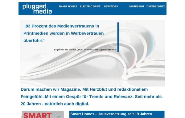 Vorschau von www.plugged.de, Plugged.de