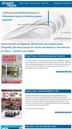 Vorschau der mobilen Webseite www.plugged.de, Plugged.de