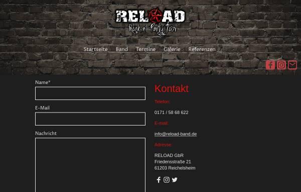 Vorschau von www.reload-band.de, Reload