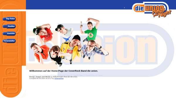 Vorschau von www.dieunion.de, Die Union
