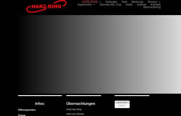Vorschau von www.harz-ring.de, Selketalring Motorpark GmbH