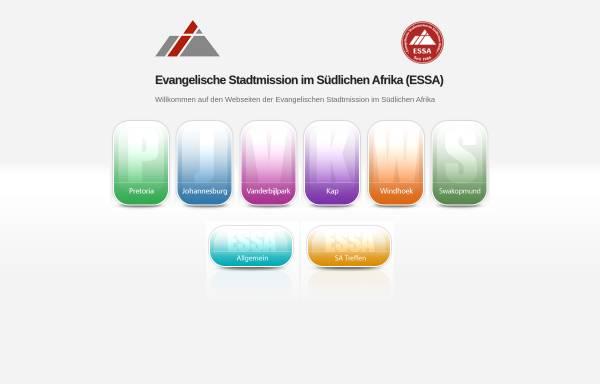 Vorschau von www.stadtmission.co.za, Evangelische Stadtmission Südliches Afrika