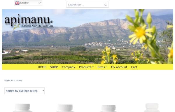 Vorschau von www.apimanu.com, Apimanu Diät