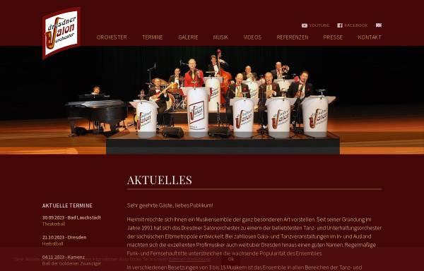 Vorschau von www.dresdner-salonorchester.de, Dresdner Salonorchester