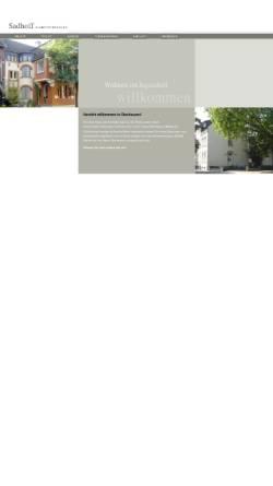 Vorschau der mobilen Webseite ferienwohnung-sadhoff.de, Ferienwohnungen Brigitte Sadhoff