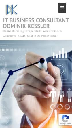 Vorschau der mobilen Webseite www.high4.de, high4 Multimedia Agentur GbR