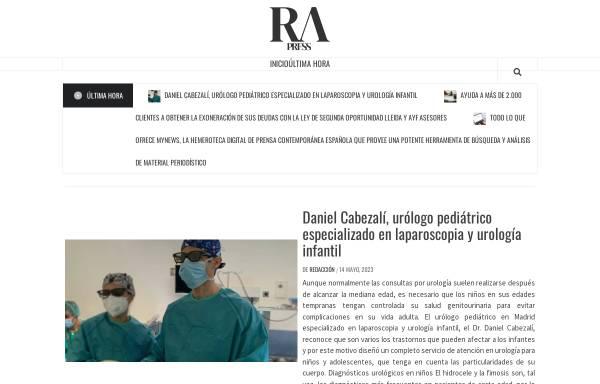 Vorschau von www.rafaelalberti.es, Rafael Alberti