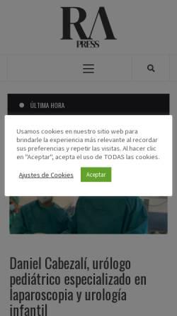 Vorschau der mobilen Webseite www.rafaelalberti.es, Rafael Alberti