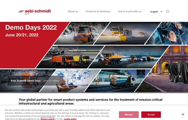 Vorschau von www.aebi.com, Aebi & Co. AG
