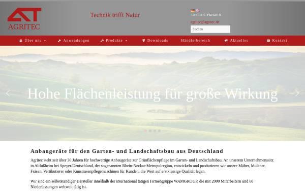 Vorschau von www.agritec.de, WAM Gmbh Agritec