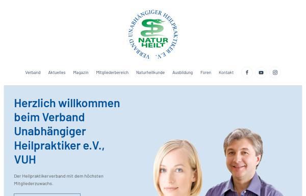 Vorschau von www.heilpraktikerverband.de, Berufs- und Fachverband Deutscher Heilpraktiker e.V. (BFDH)