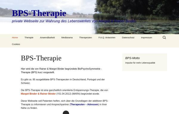 Vorschau von www.bps-therapie.de, BPS-BioPsychoSymmetrie-Therapie