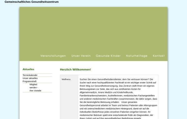 Vorschau von www.nhv-wetterau.de, Naturheilverein Bad Nauheim-Friedberg