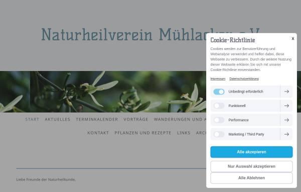Vorschau von naturheilverein-muehlacker.jimdo.com, Naturheilverein Mühlacker e.V.