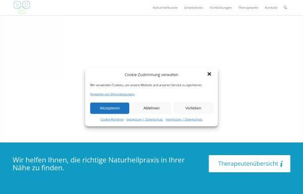 Vorschau von www.vhd-heilpraktiker.de, Verband der Heilpraktiker Deutschlands e.V.