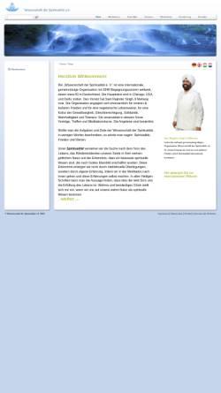 Vorschau der mobilen Webseite www.sos-online.eu, Wissenschaft der Spiritualität e.V.