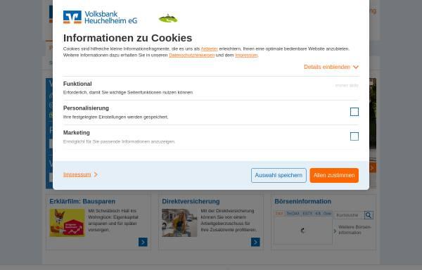 Volksbank Heuchelheim Eg Wirtschaft Mittelhessen Voba Heuchelheimde