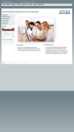 Vorschau der mobilen Webseite mediendienst.biz, Thomas Brock Mediendienst