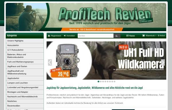 Vorschau von www.profitechrevier.de, Berger & Schröter GmbH