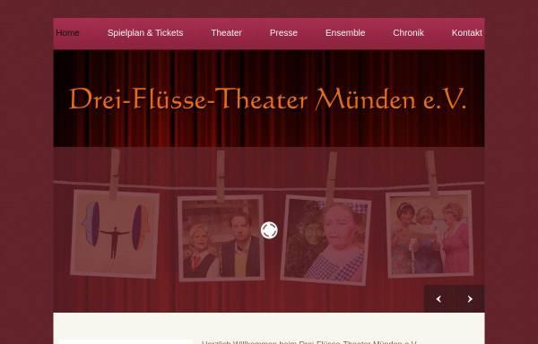 Vorschau von www.drei-fluesse-theater.de, Hannoversch Münden, Drei-Flüsse-Theater Münden e.V.
