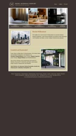 Vorschau der mobilen Webseite www.hotelmondialfrankfurt.de, Hotel Mondial