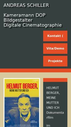 Vorschau der mobilen Webseite www.andreasschiller.de, Schiller, Andreas (D) Ronnenberg