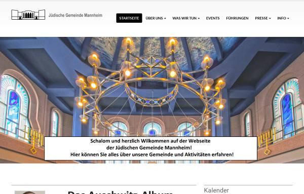 Vorschau von www.jgm-net.de, Jüdische Gemeinde Mannheim