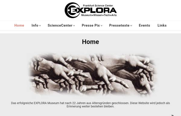 Vorschau von www.exploramuseum.de, Explora-Museum