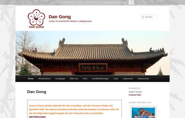 Vorschau von dan-gong.de, Dan-Gong - Institut für chinesische Heil- & Bewegungskunst