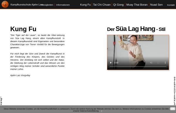 Vorschau von www.tiger-kungfu.de, Fongs Kung Fu & Tai Chi School Germany