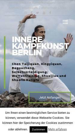 Vorschau der mobilen Webseite chentaiji-berlin.de, Mario Pestel