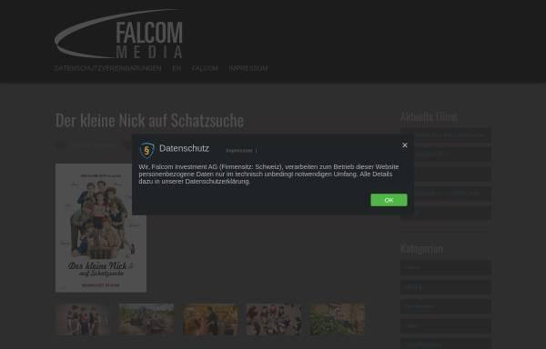 Vorschau von www.falcom.ch, Falcom Media Group