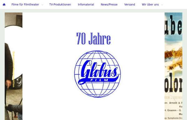 Vorschau von www.globus-film.de, Globus-Film