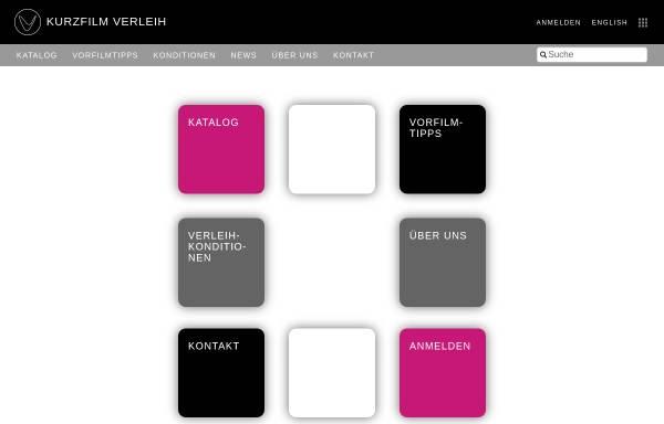 Vorschau von www.kurzfilmverleih.com, KurzFilmVerleih der KFA Hamburg