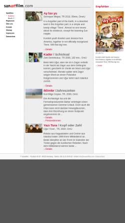 Vorschau der mobilen Webseite www.sanartfilm.com, sanartfilm. Filmverleih