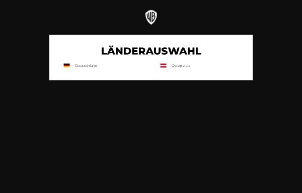 Vorschau von www.warnerbros.de, Warner Bros. Deutschland