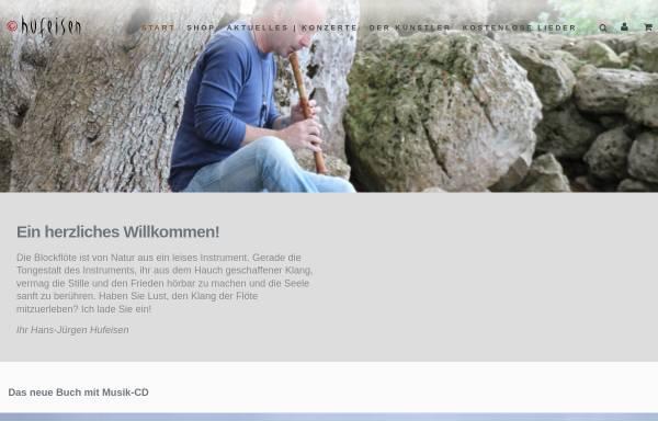 Vorschau von www.hufeisen.de, Hufeisen Musik Vertrieb, Ute und Christian Halberstadt