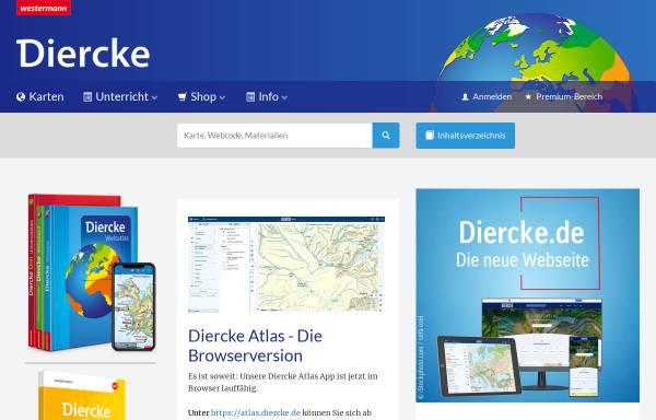 Vorschau von www.diercke.de, Diercke