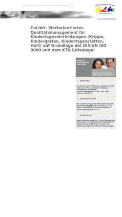 Vorschau der mobilen Webseite www.colibri-qualitaetsmanagement.de, CoLibri Management Service
