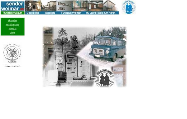 Vorschau von www.history-weimar.de, Sender Weimar