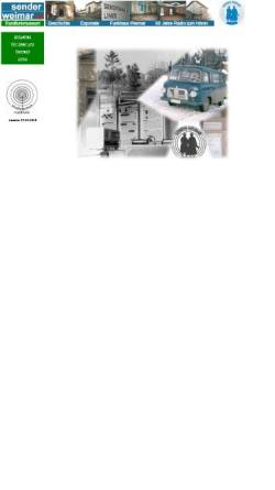Vorschau der mobilen Webseite www.history-weimar.de, Sender Weimar