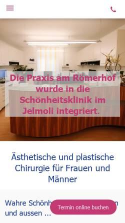 Vorschau der mobilen Webseite www.doctorcynthia.ch, Wolfensberger, Dr. med. Cynthia A.