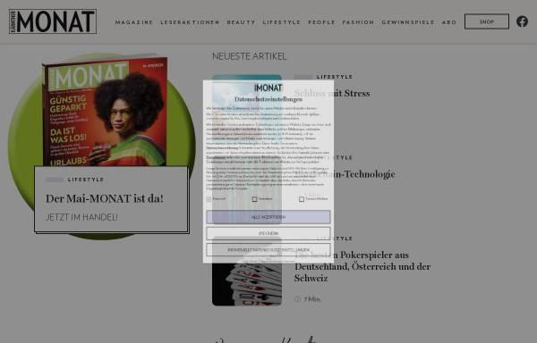 Vorschau von www.monat.at, Kärntner Monat