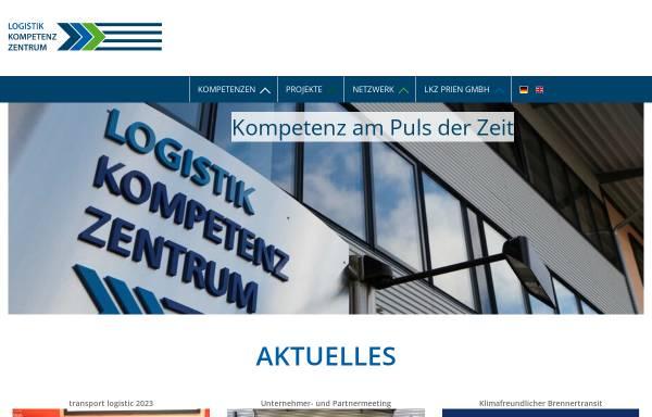 Vorschau von www.logistik-kompetenz-zentrum.de, Das Logistik-Kompetenz-Zentrum ist spezialisiert auf Logistik und Verkehr