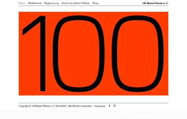 Vorschau von 100-beste-plakate.de, 100 beste Plakate des Jahres