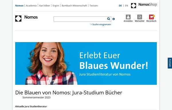 Vorschau von www.studjur-online.de, Stud.Jur. von Nomos